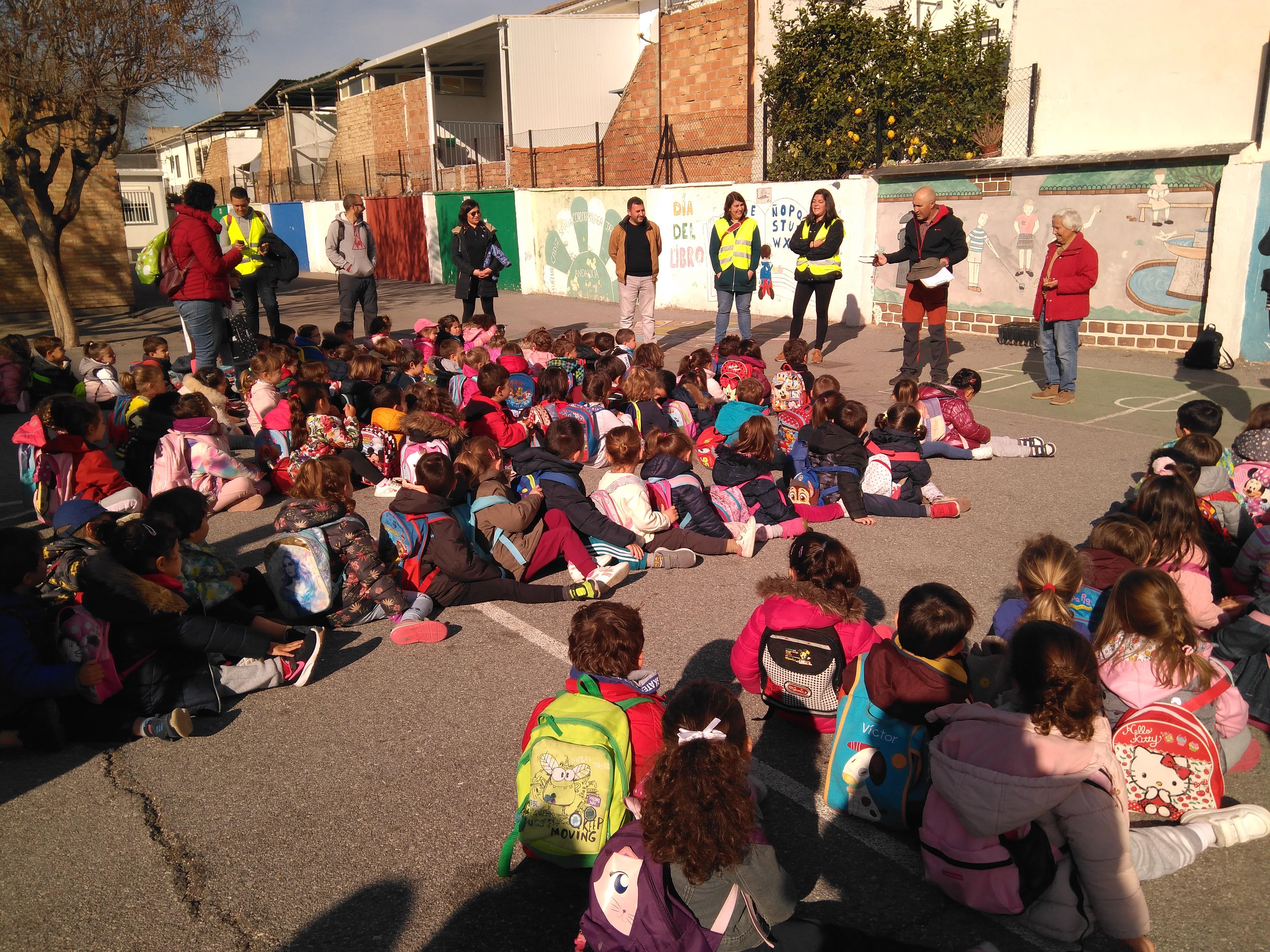 Alhendín: más de 800 escolares participan en el proyecto 'La Escuela de mis Abuelos'