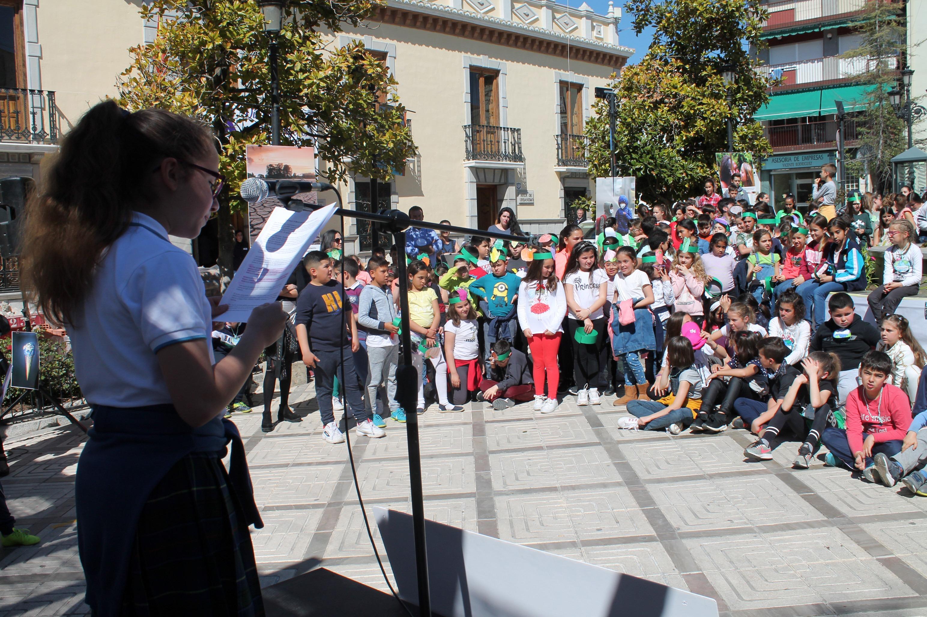 Los escolares de Atarfe toman el testigo en la lucha contra el cambio climático