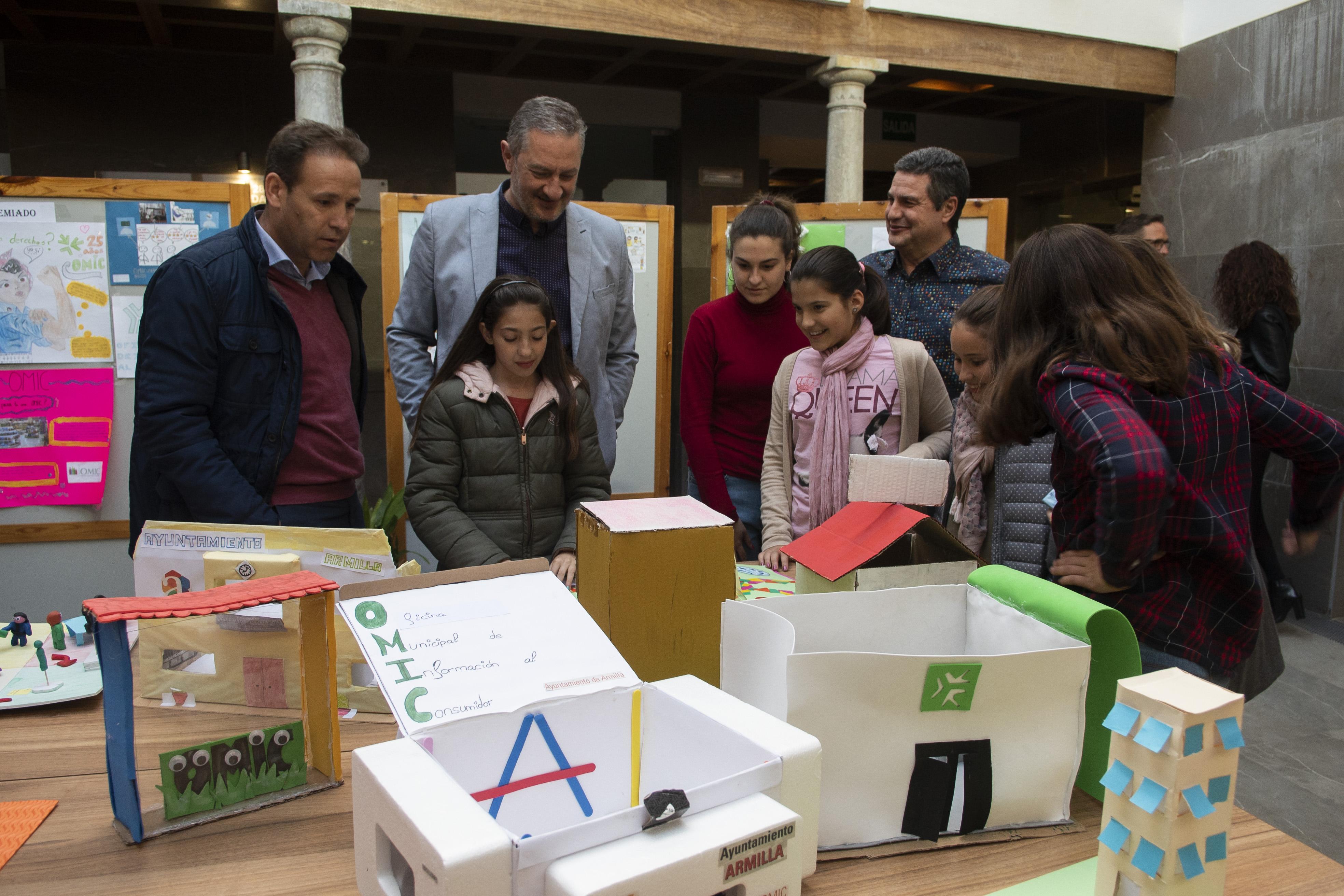 """La OMIC de Armilla celebra su XXV aniversario con una """"gestión cada día más ágil y eficiente ante las demandas del consumidor»"""