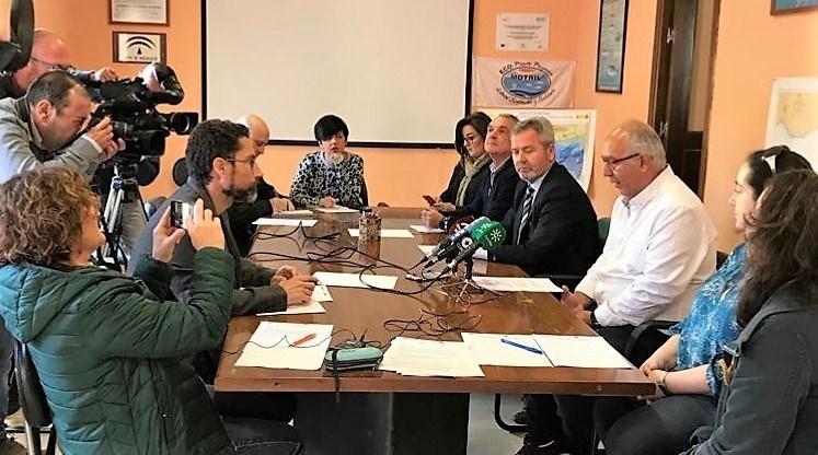 CEI·Mar respalda el proyecto 'AsíPescaAlborán' de la Cofradía de Pescadores del Puerto de Motril