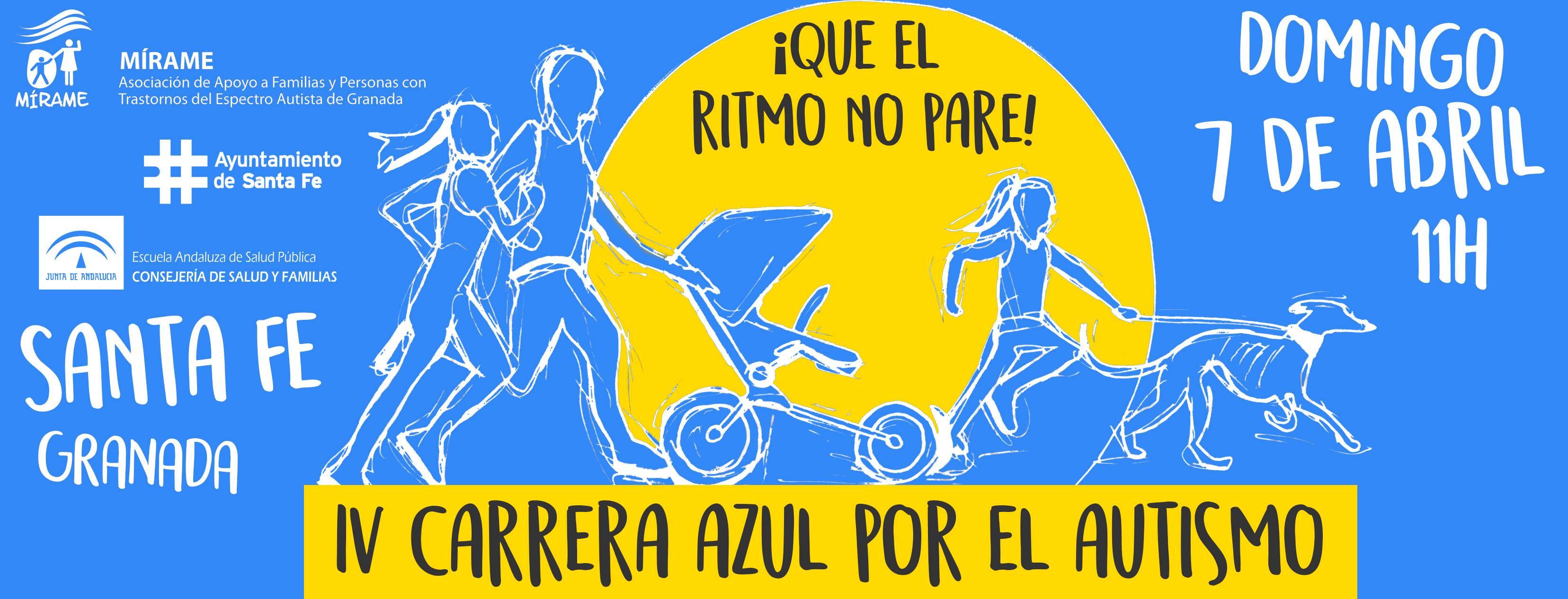 """Presentación de la """"IV Carrera Azul por el Autismo"""""""