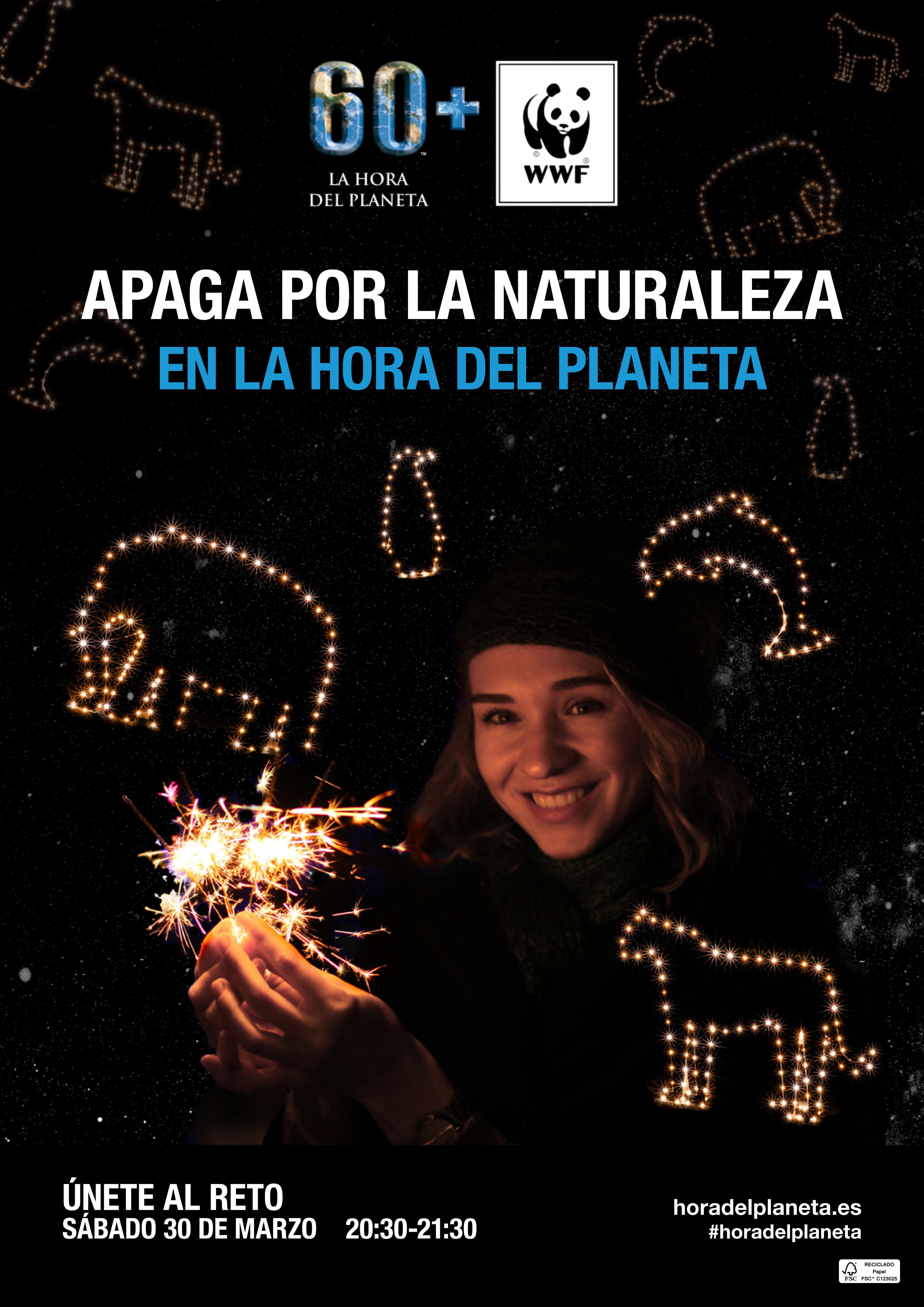 Huétor Vega se suma a la Hora del Planeta, por sexto año consecutivo