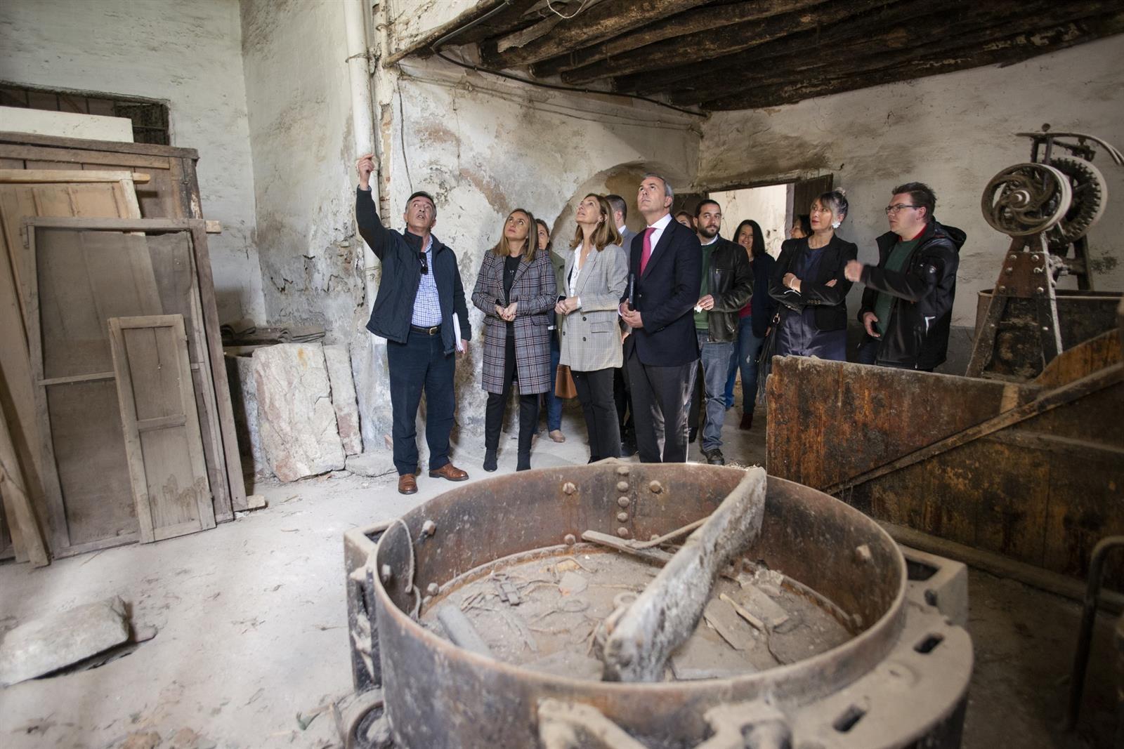 La Junta impulsa la rehabilitación de la Casa de los Aragoneses de Monachil