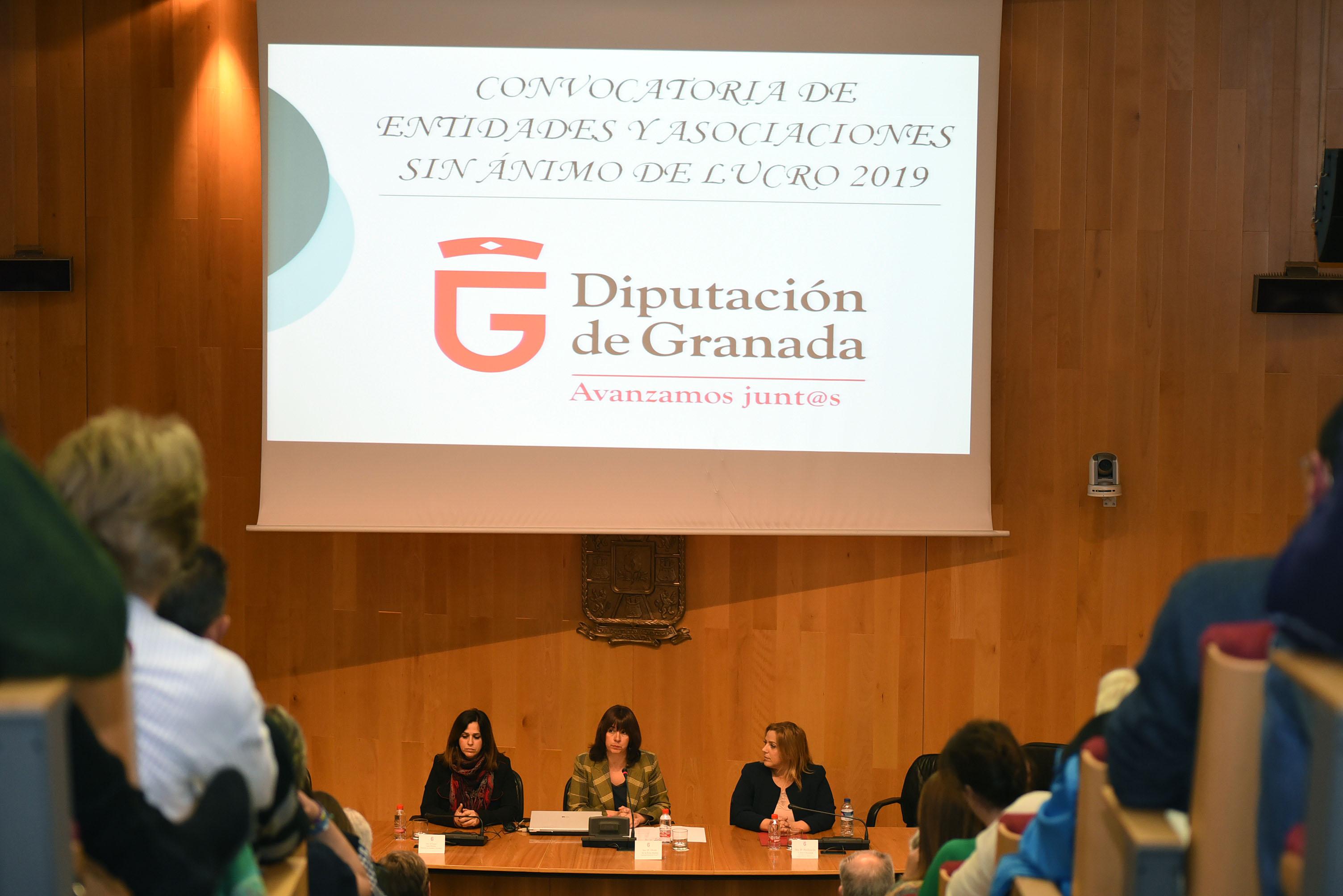 Diputación destina 415.000 euros a proyectos de entidades y asociaciones sin ánimo de lucro
