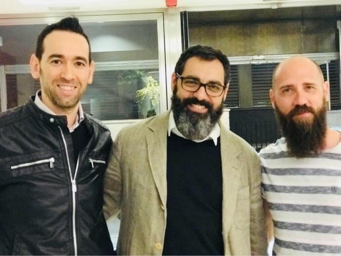 """Javier Gilabert y Fernando Jaén: """"Hacemos las preguntas que le haríamos a un amigo, intentando conocer mejor el pensamiento de los entrevistados»"""
