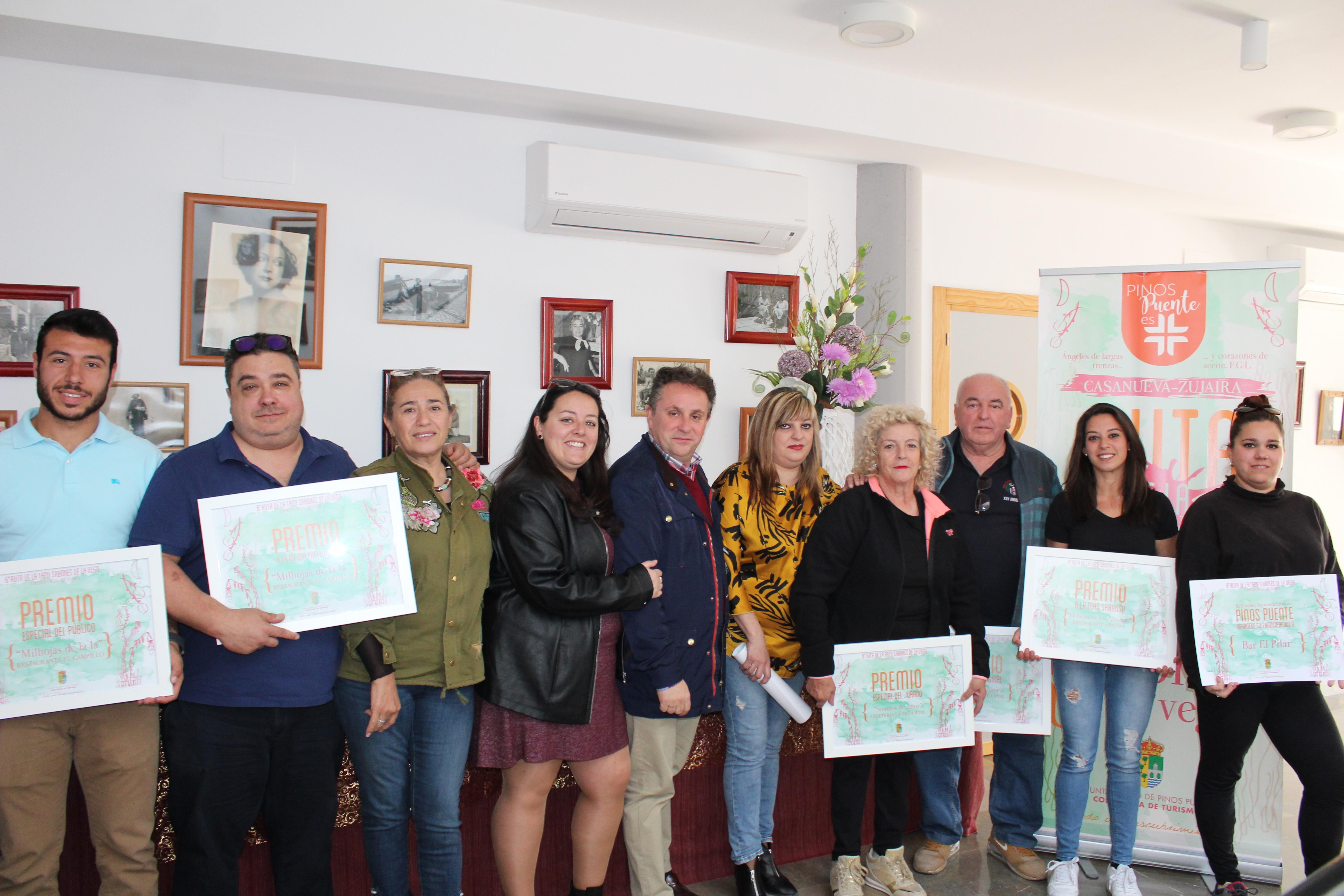La VI Ruta de la Tapa Sabores de la Vega ya tiene ganadores