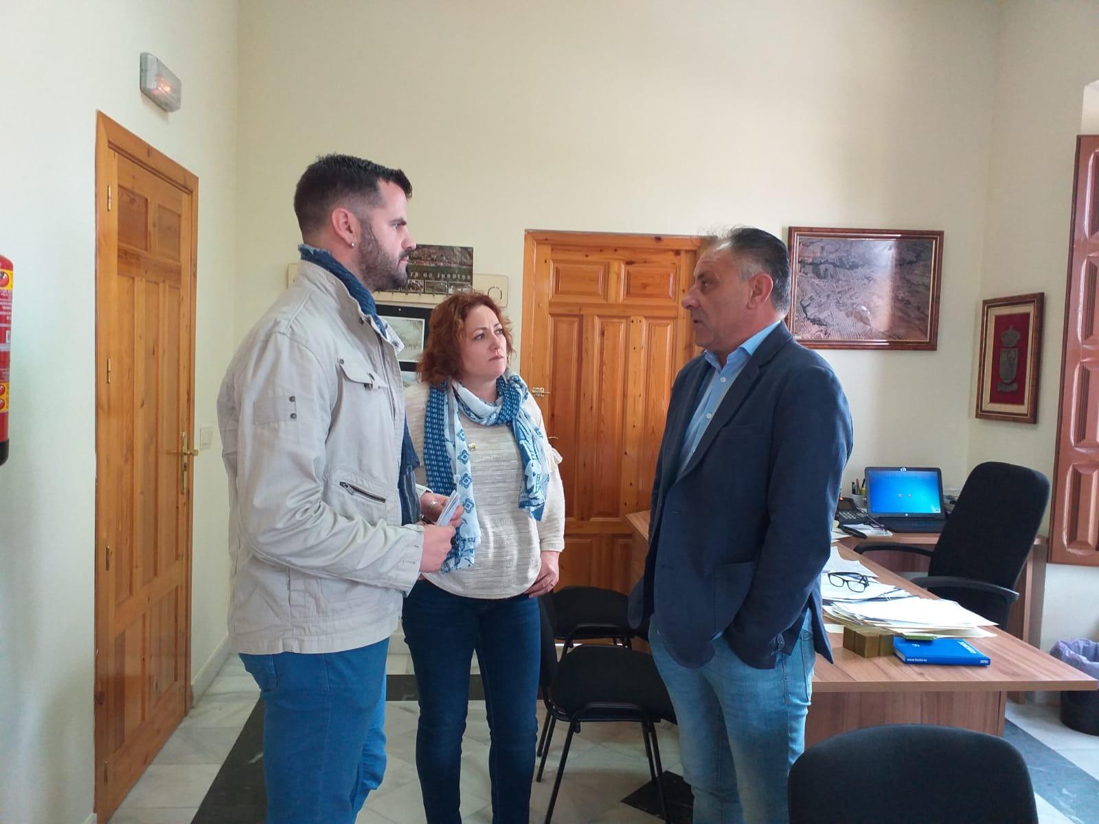 IU denuncia la falta de ejecución del proyecto de la depuradora de aguas residuales en Deifontes