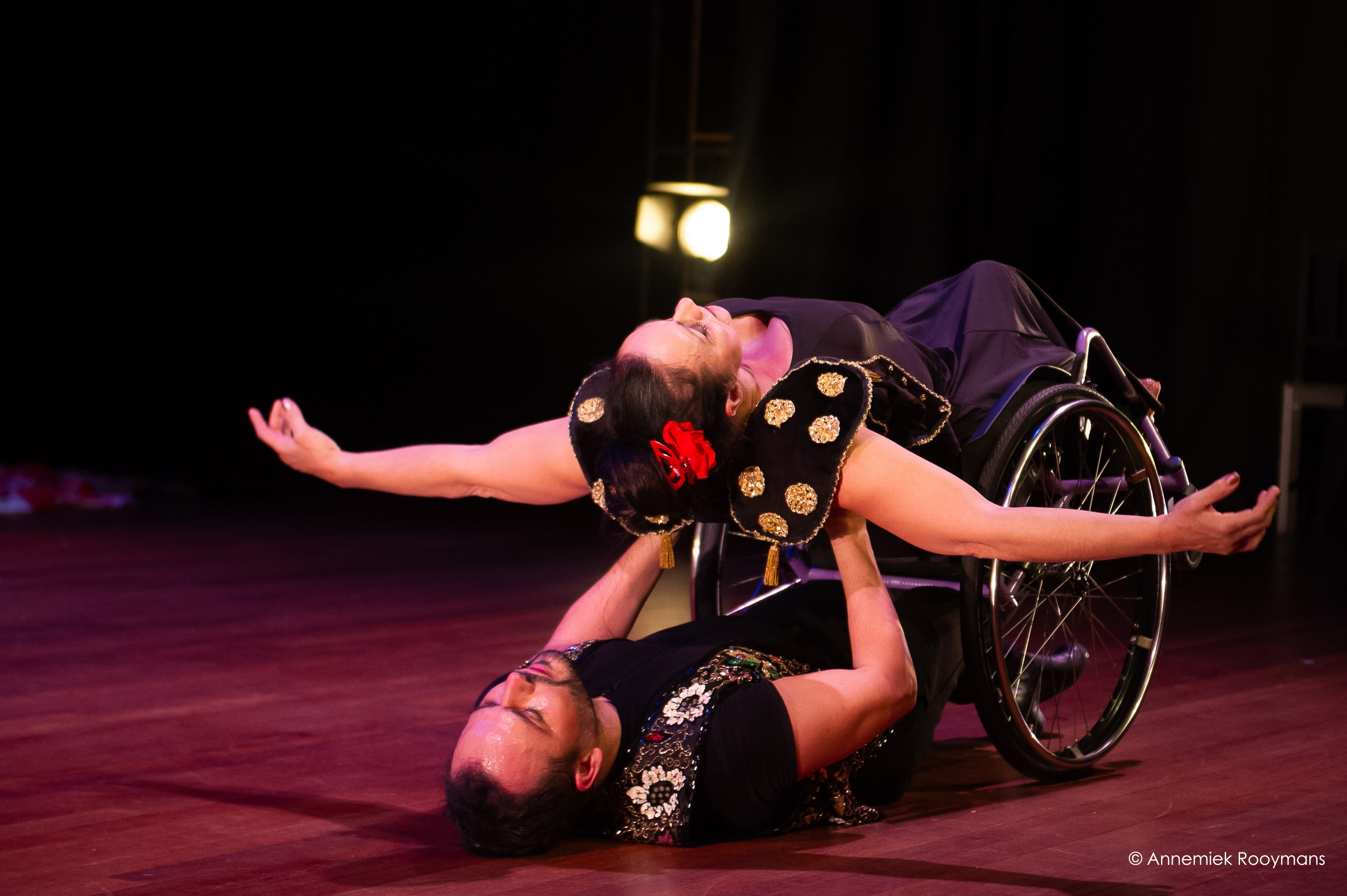 El teatro Alhambra presenta la obra de flamenco inclusivo 'Sueños reales de cuerpos posibles', de José Galán