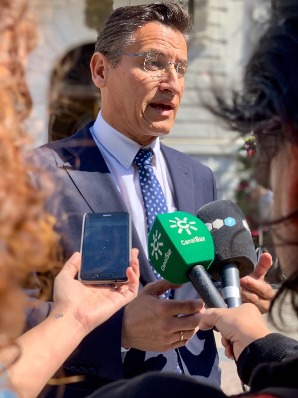 """Luis Salvador: """"El gobierno del cambiode la Junta también da respuesta a las necesidades del día a día de los andaluces"""""""