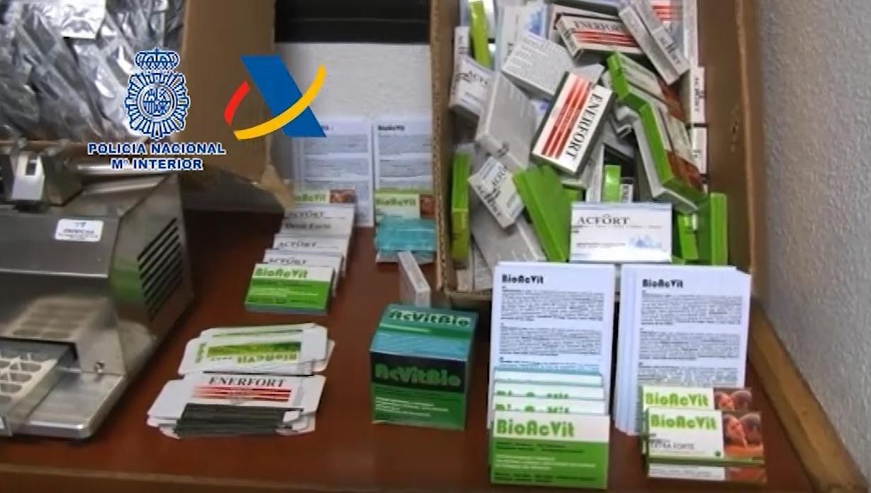 Cae una red que vendía medicamentos adulterados en Internet