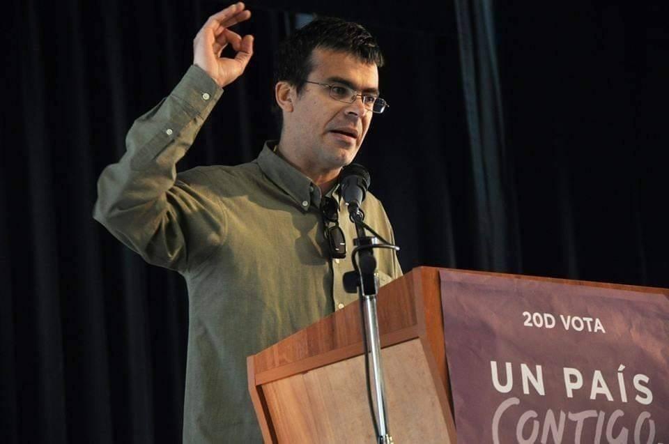 Pedro Honrubia, un filósofo a la cabeza de la lista de Unidas Podemos para las generales