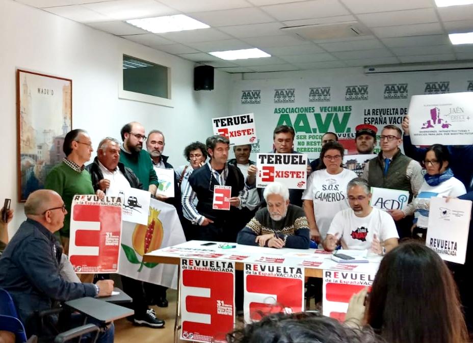 Se presenta en Madrid «La revuelta de la España Vaciada»