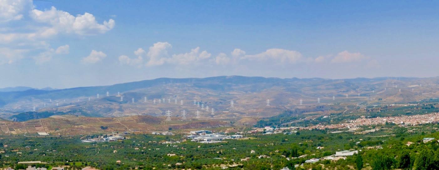 'Di no a las torres' aumenta el pulso contra la infraestructura de Red Eléctrica en Valle de Lecrín y Alpujarra