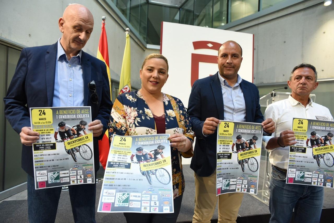 Más de 350 ciclistas participarán en Otura en la primera carrera benéfica contra el cáncer de colon
