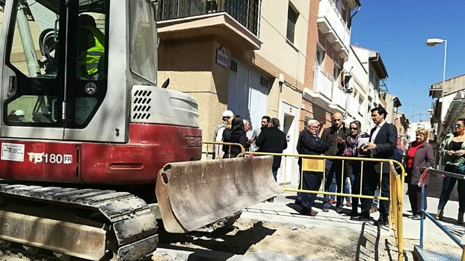 Cuenca visita el Zaidín para hacer seguimiento de las obras de remodelación de la zona de Casillas Bajas
