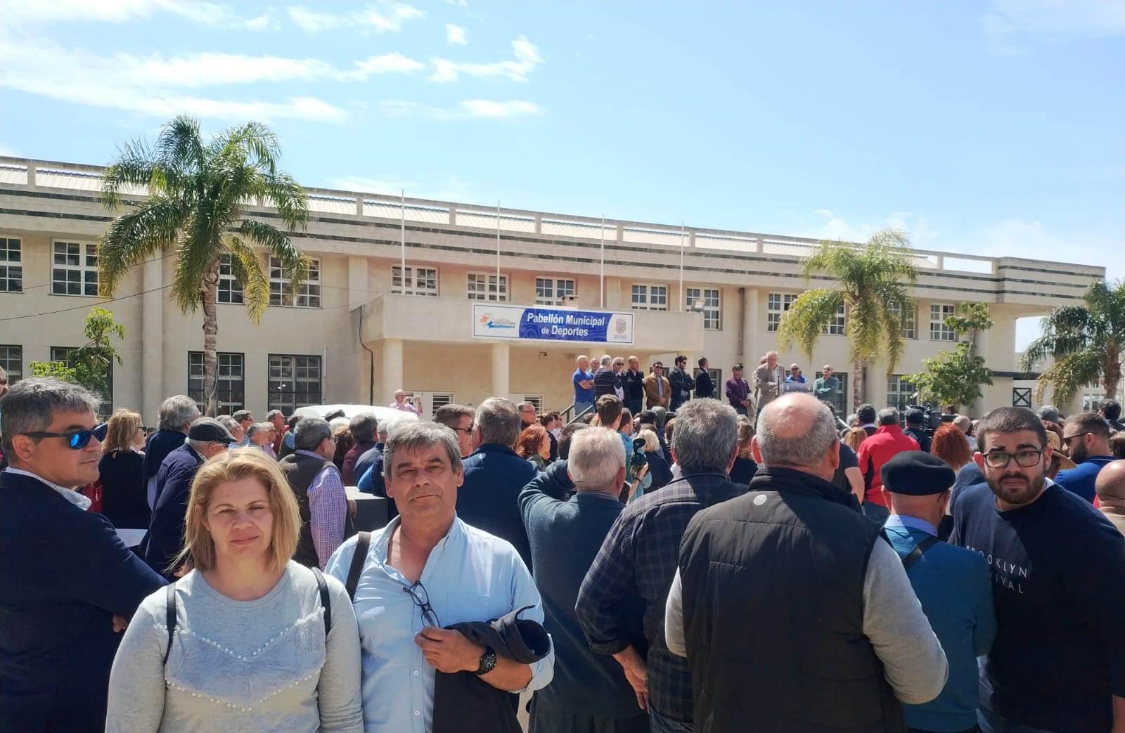 Comisiones apoya a los regantes y pide la urgente canalización de Béznar -Rules