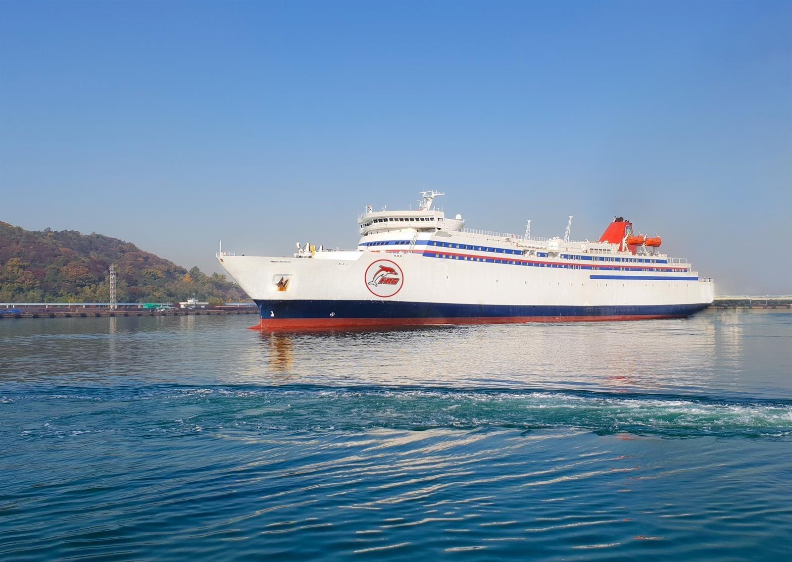 'Golden Bridge', el nuevo gigante del mar que reforzará la conexión entre Motril y Melilla