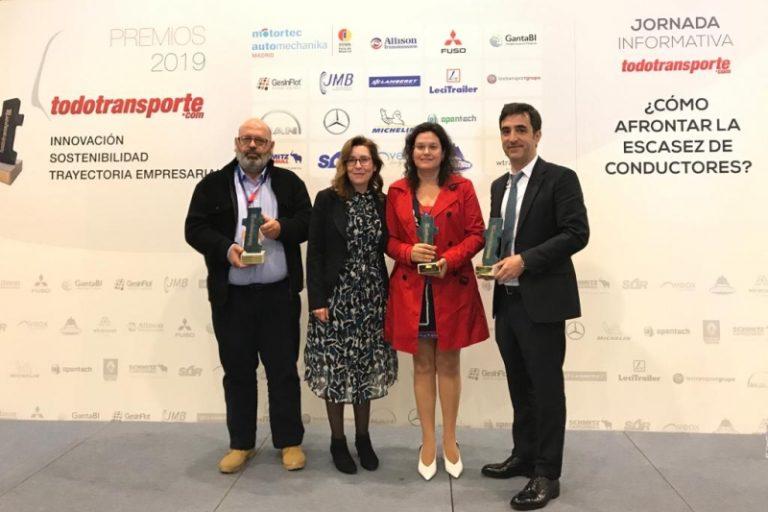 Grupo Cariño gana en la categoría de Innovación en la primera edición de los Premios TodoTransporte