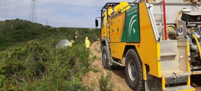 Estabilizado el incendio declarado en Alpujarra de la Sierra