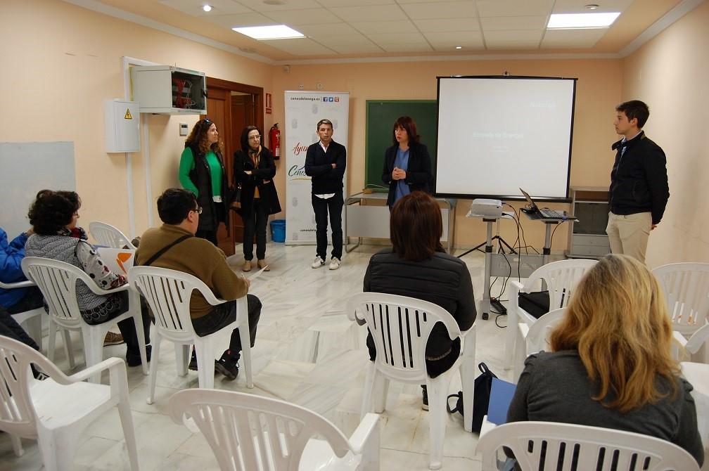 Diputación imparte un taller de economía doméstica orientada al consumo energético eficiente en la provincia