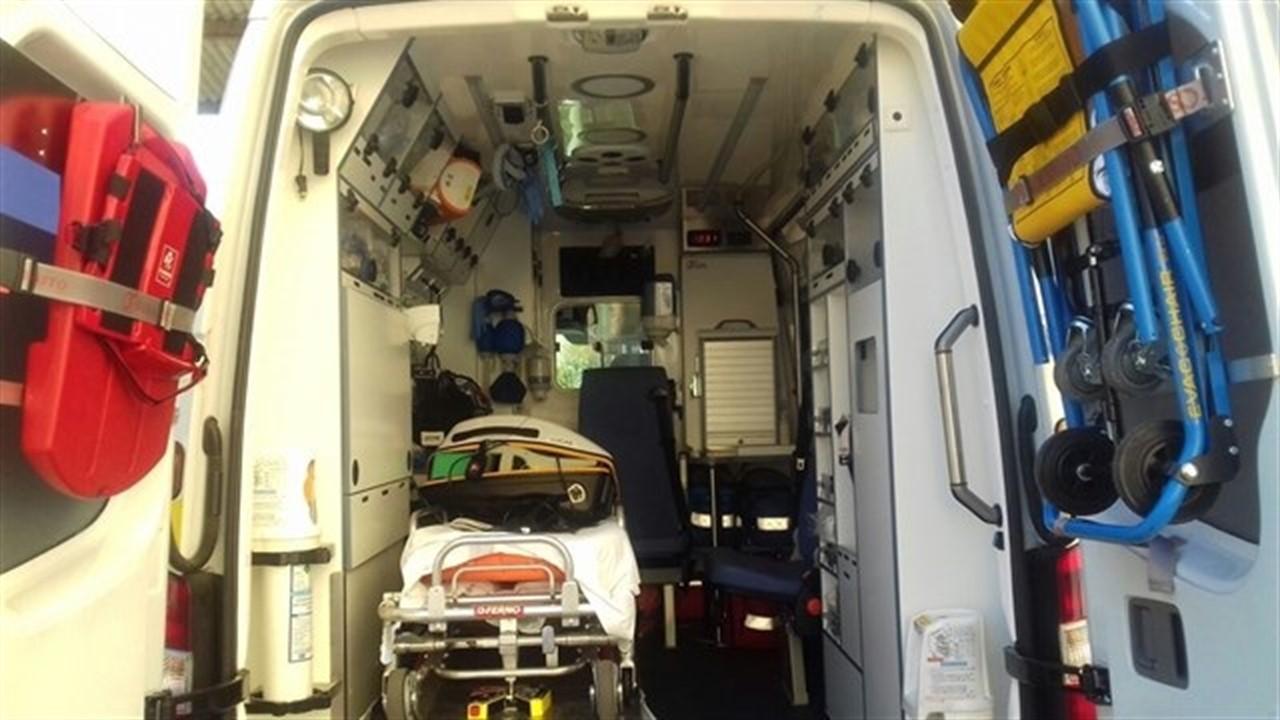 Cuatro menores heridos en un accidente de tráfico en la A92