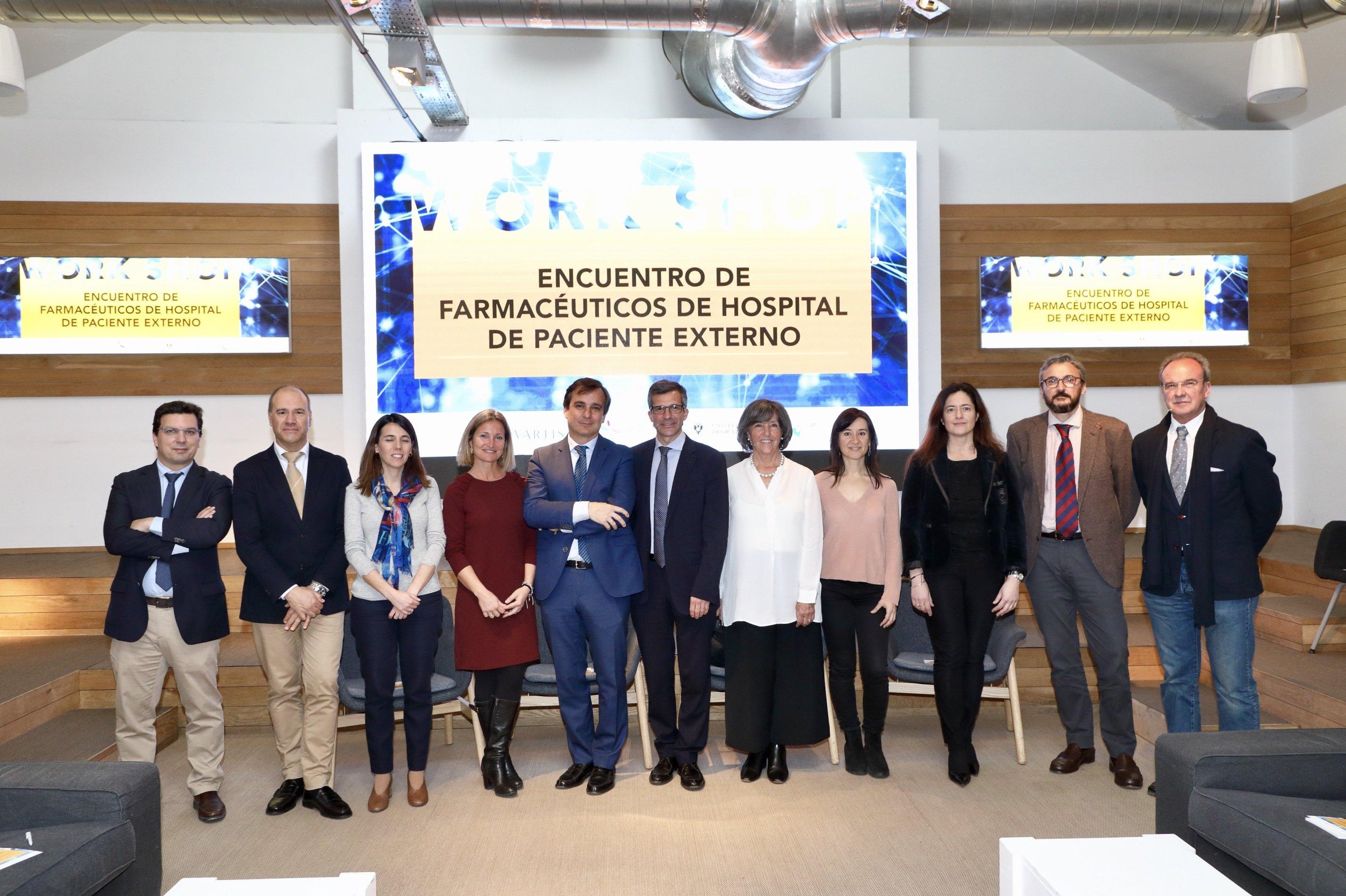 La UGR organiza un 'workshop' sobre el trabajo de los farmacéuticos de hospital con los pacientes externos