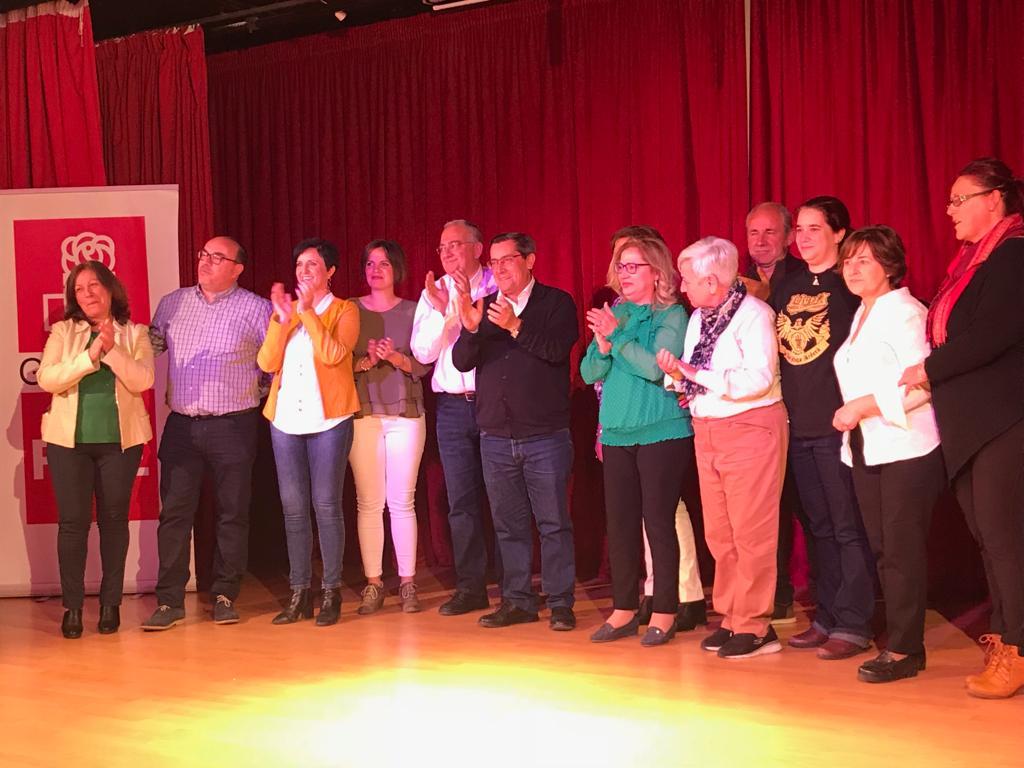 El PSOE de Gójar presenta una candidatura para «el desarrollo social y económico del municipio»