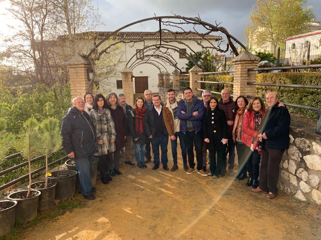 El PSOE de Víznar presenta la candidatura al 26-M para «impulsar la fuente de riqueza» del municipio