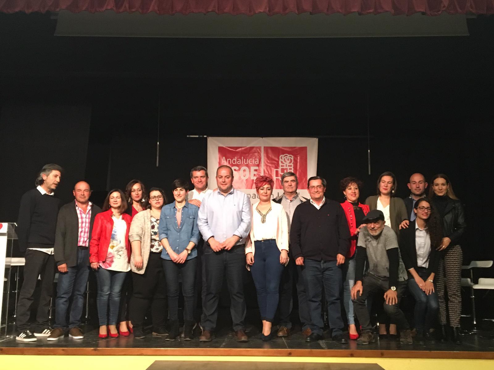 El PSOE presenta sus candidaturas en Villanueva Mesía y Moraleda de Zafayona