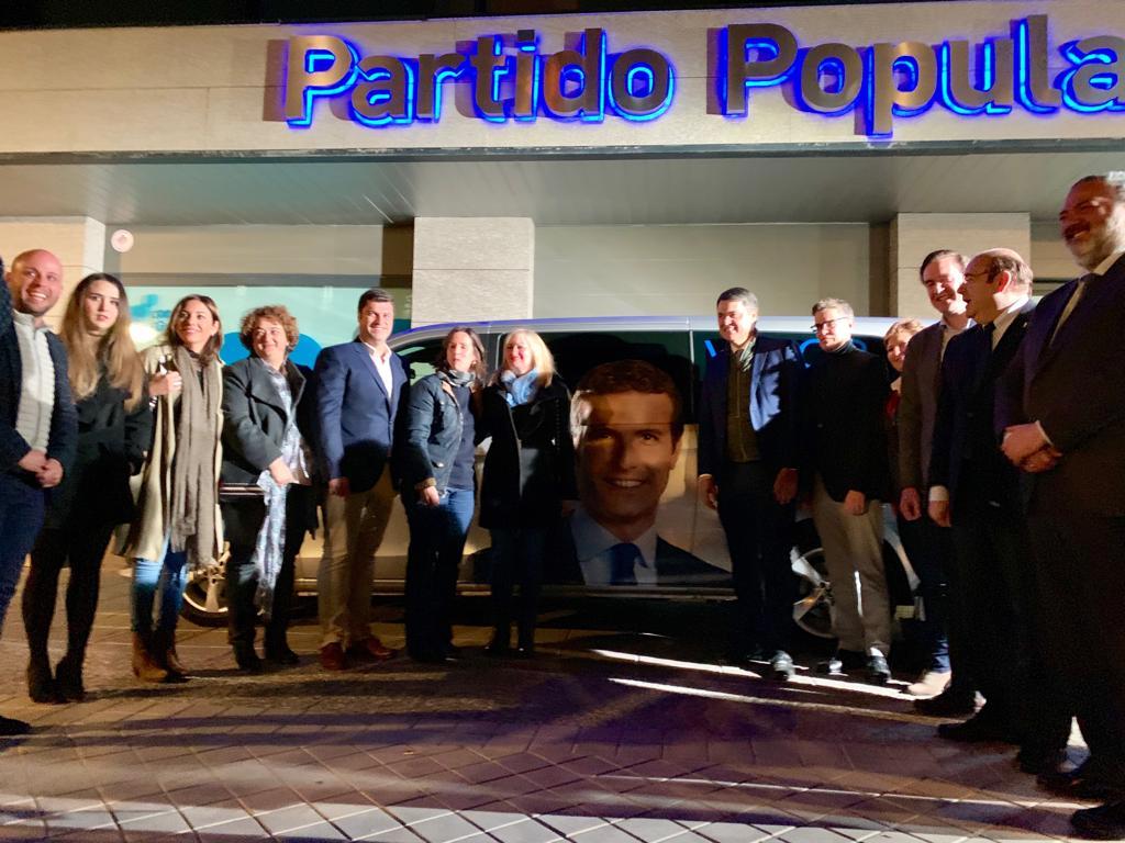 #28A: El PP arranca la campaña con el objetivo de  llevar a Casado a la presidencia del Gobierno de España
