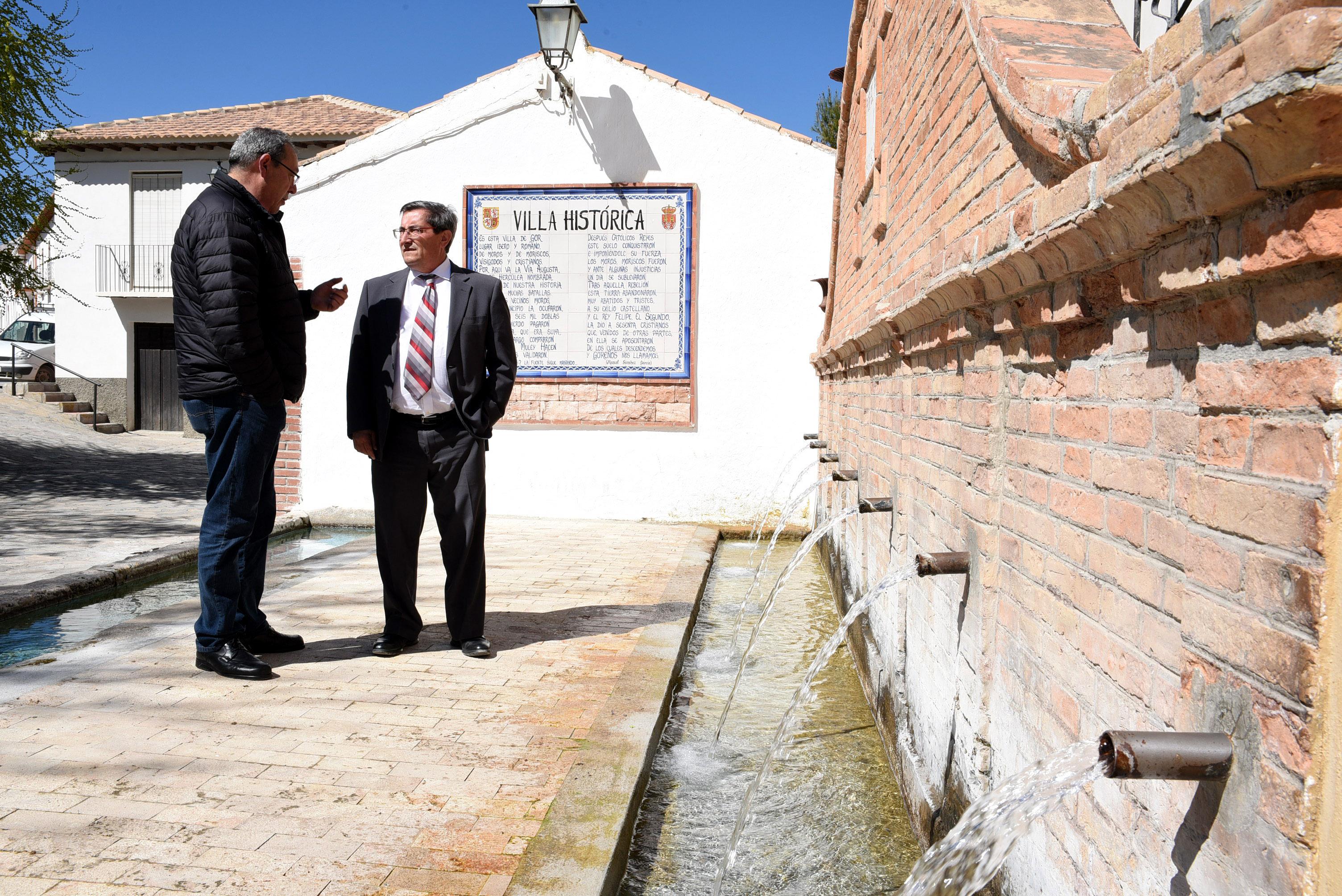 Diputación ejecuta actuaciones de mejora en la carretera de acceso a Gor