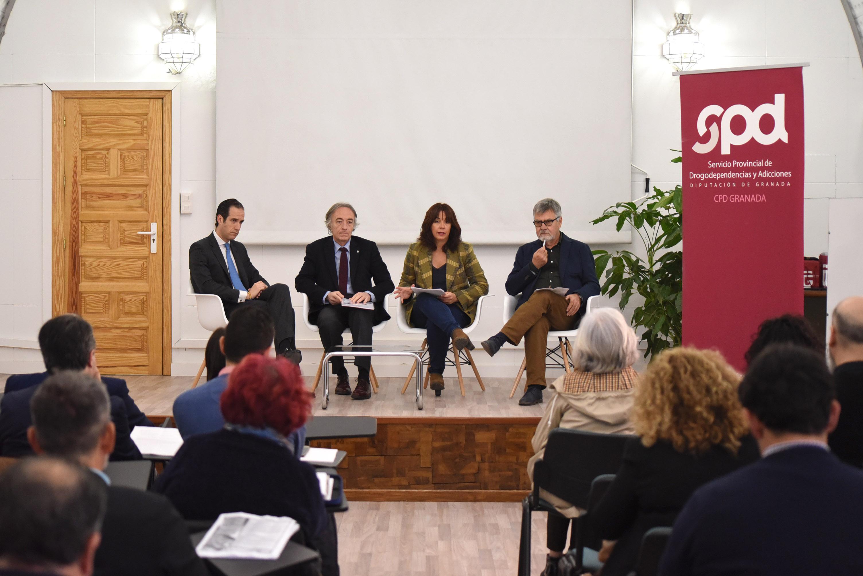 Diputación celebra una jornada sobre la patología dual