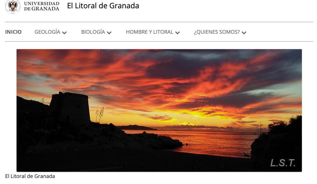 Científicos crean una página web para divulgar trabajos de investigación sobre la costa de Granada