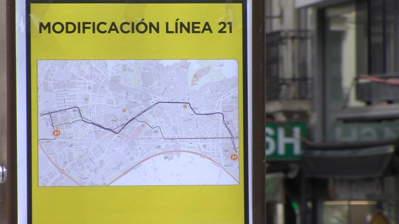 La línea 21 conectará Parque Lagos con el centro