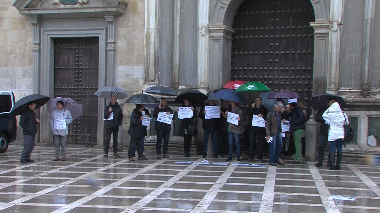 Los profesionales de Justicia se manifiestan contra Lorenzo del Río