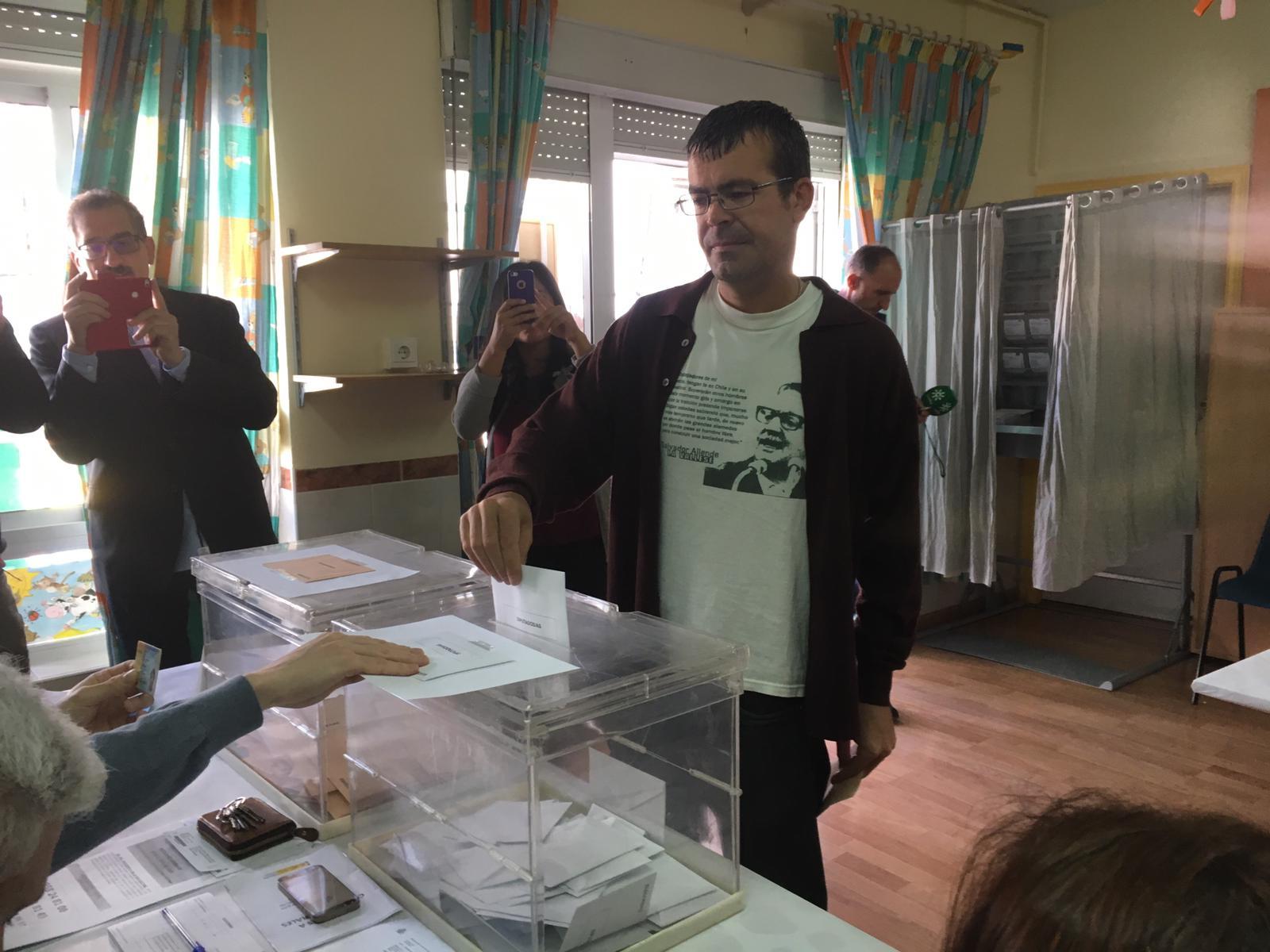 #28A Honrubia: «Debemos expresar con nuestro voto la lucha contra el fascismo»