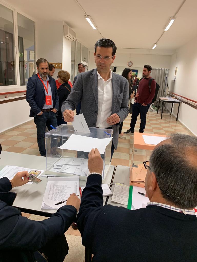 #28A Cuenca: «Los granadinos votamos hoy mirando al futuro»