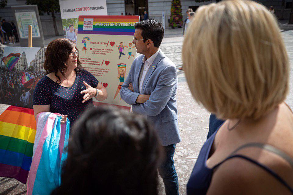 #26M: Paco Cuenca promete «seguir avanzando» por una ciudad diversa y comprometida con el colectivo LGTBI