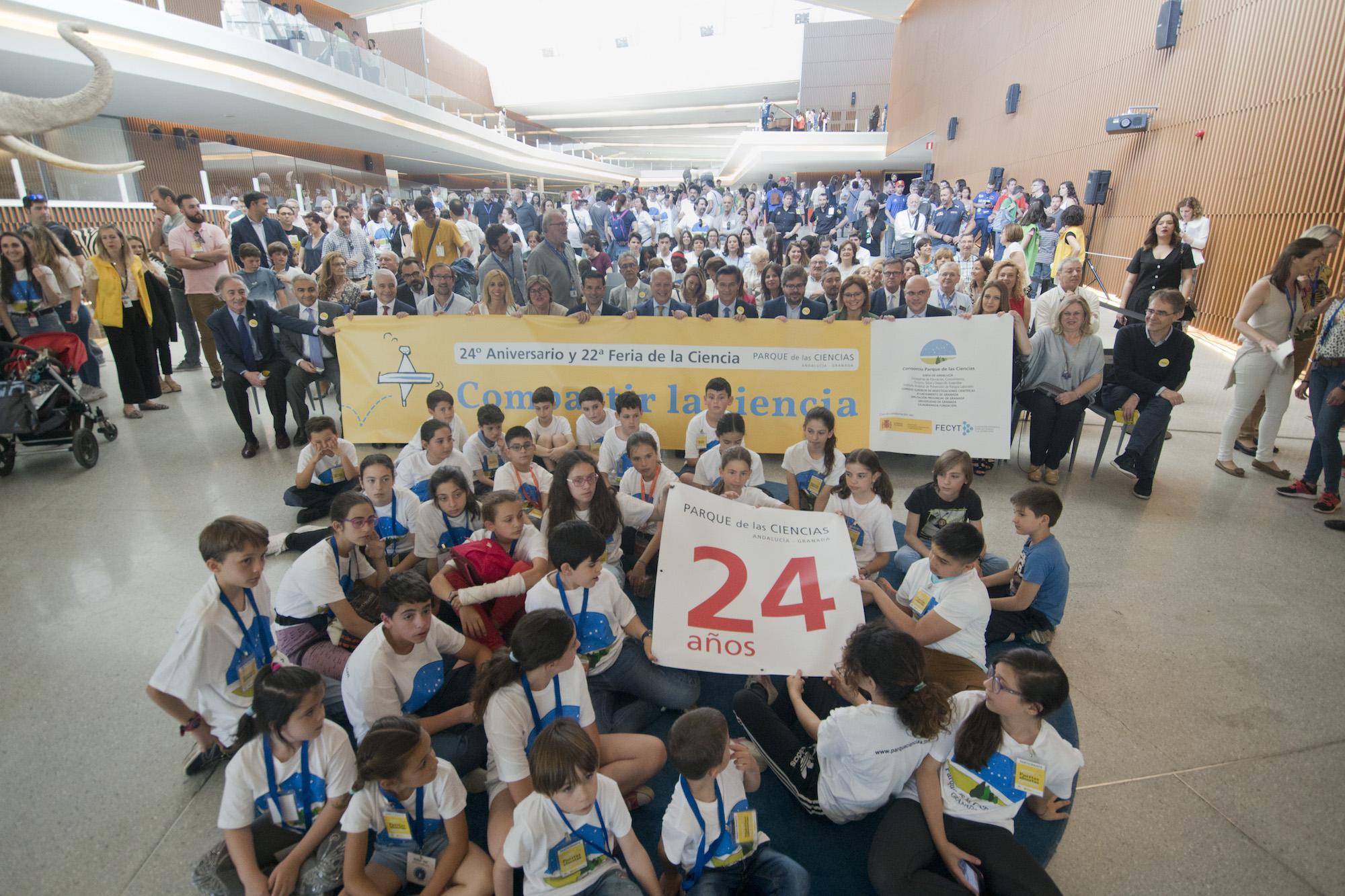 El Parque de las Ciencias celebra su aniversario con más de 13.000 visitas