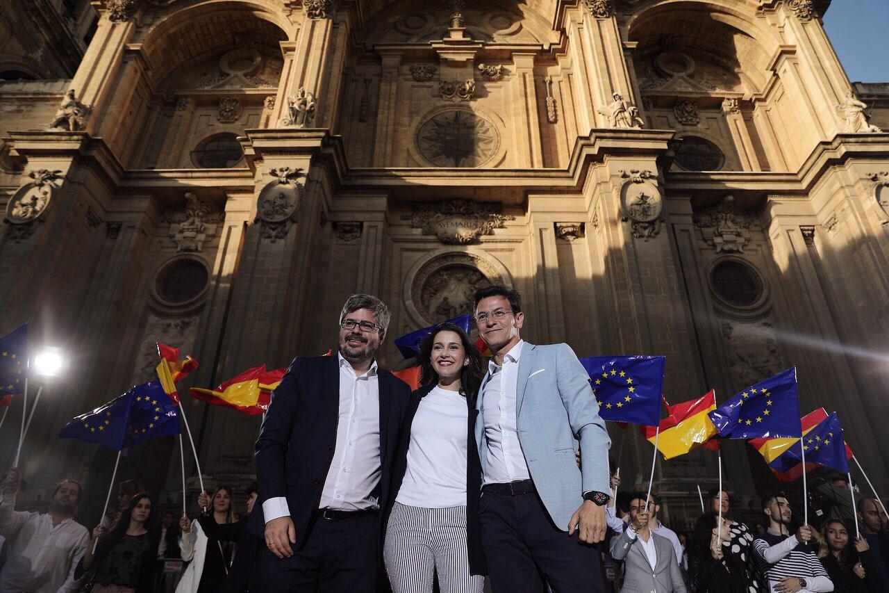 #26M: Inés Arrimadas dice que con Cs en la Junta ya se han cerrado cien «chiringuitos»