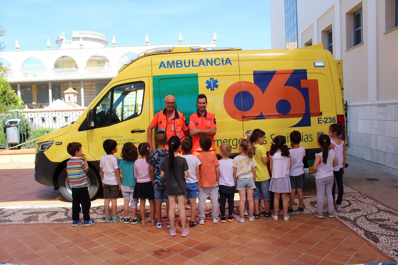 Más de 200 escolares de entre tres y cinco años aprenden cómo actuar ante un emergencia