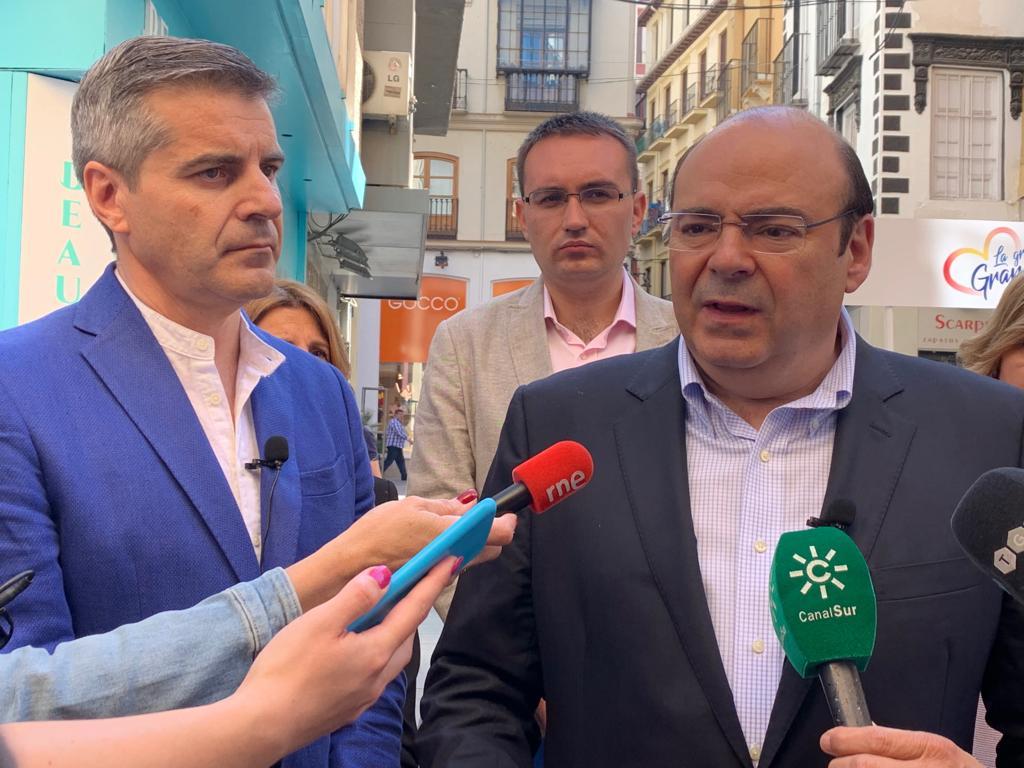 #26M: El PP presenta un plan para dinamizar el comercio minorista y convertir Granada en una ciudad de compras