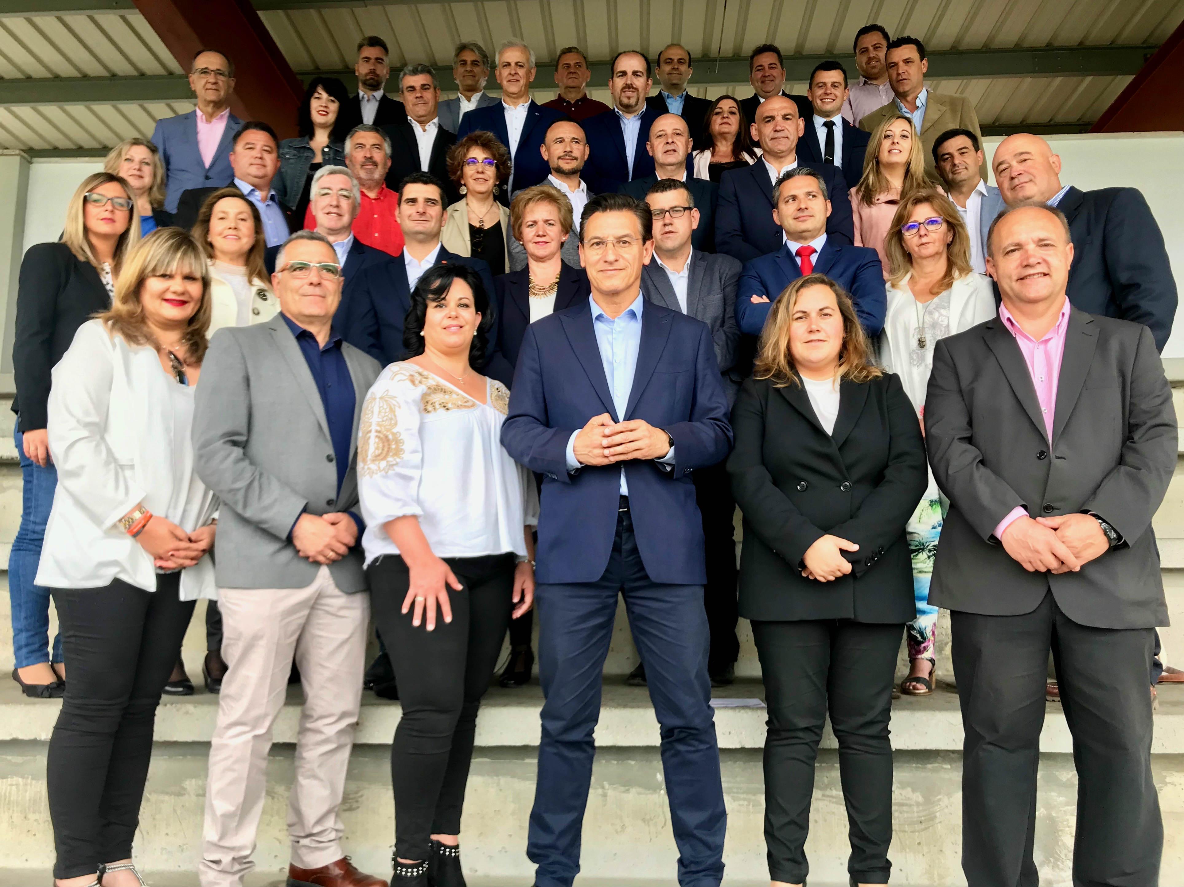 #26M: Los candidatos de Ciudadanos a las alcaldías de los municipios del área metropolitana suscriben un decálogo para abordar el nuevo proyecto de desarrollo urbano de Granada
