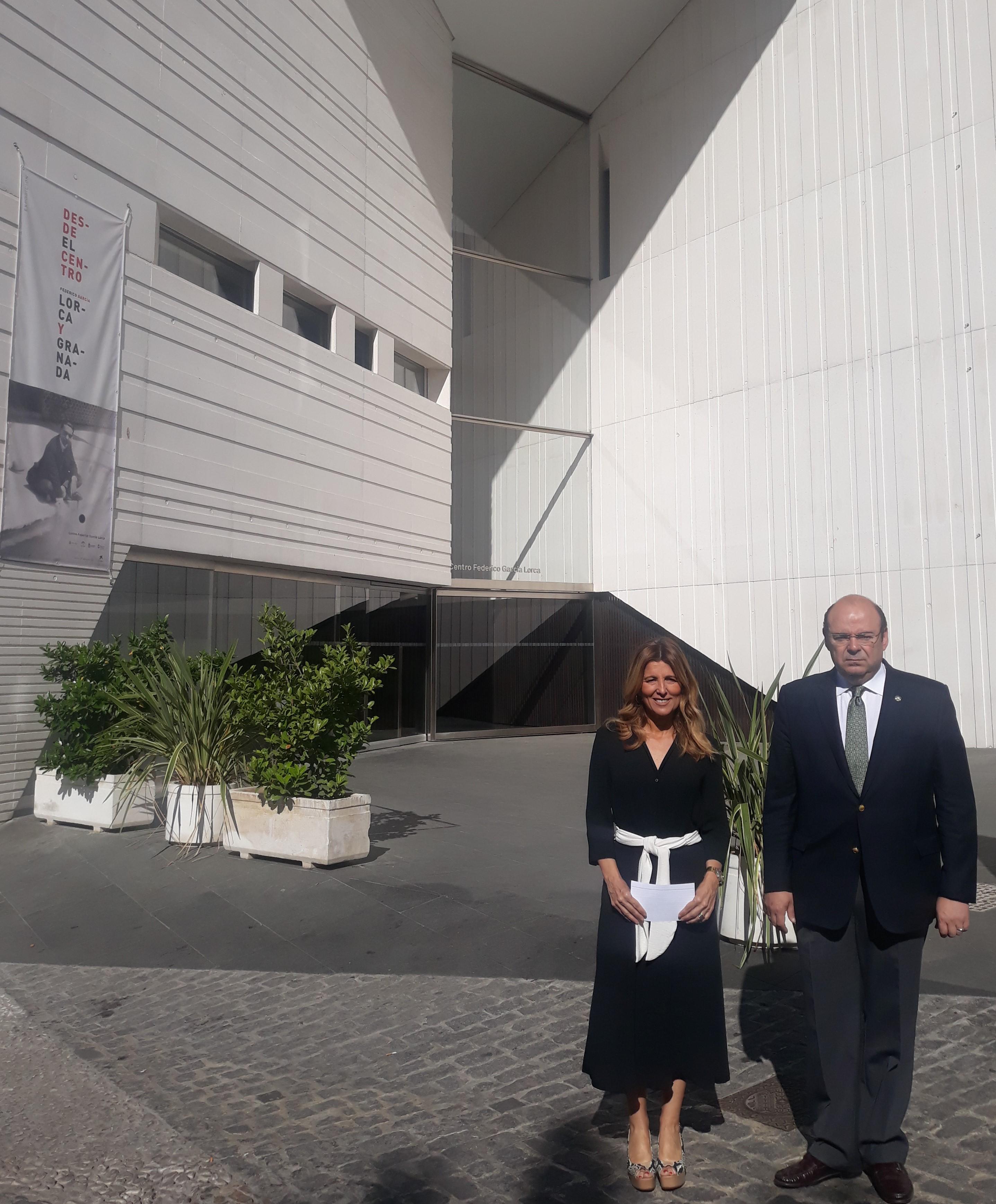 """#26M: El Centro Lorca como propuesta cultural del proyecto """"La Gran Granada"""" del Partido Popular"""