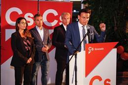 #26M: Salvador dice que Cs estará en el gobierno local, pero no aclara si apoyará a PP o PSOE en la AlcaldíaGranada.-