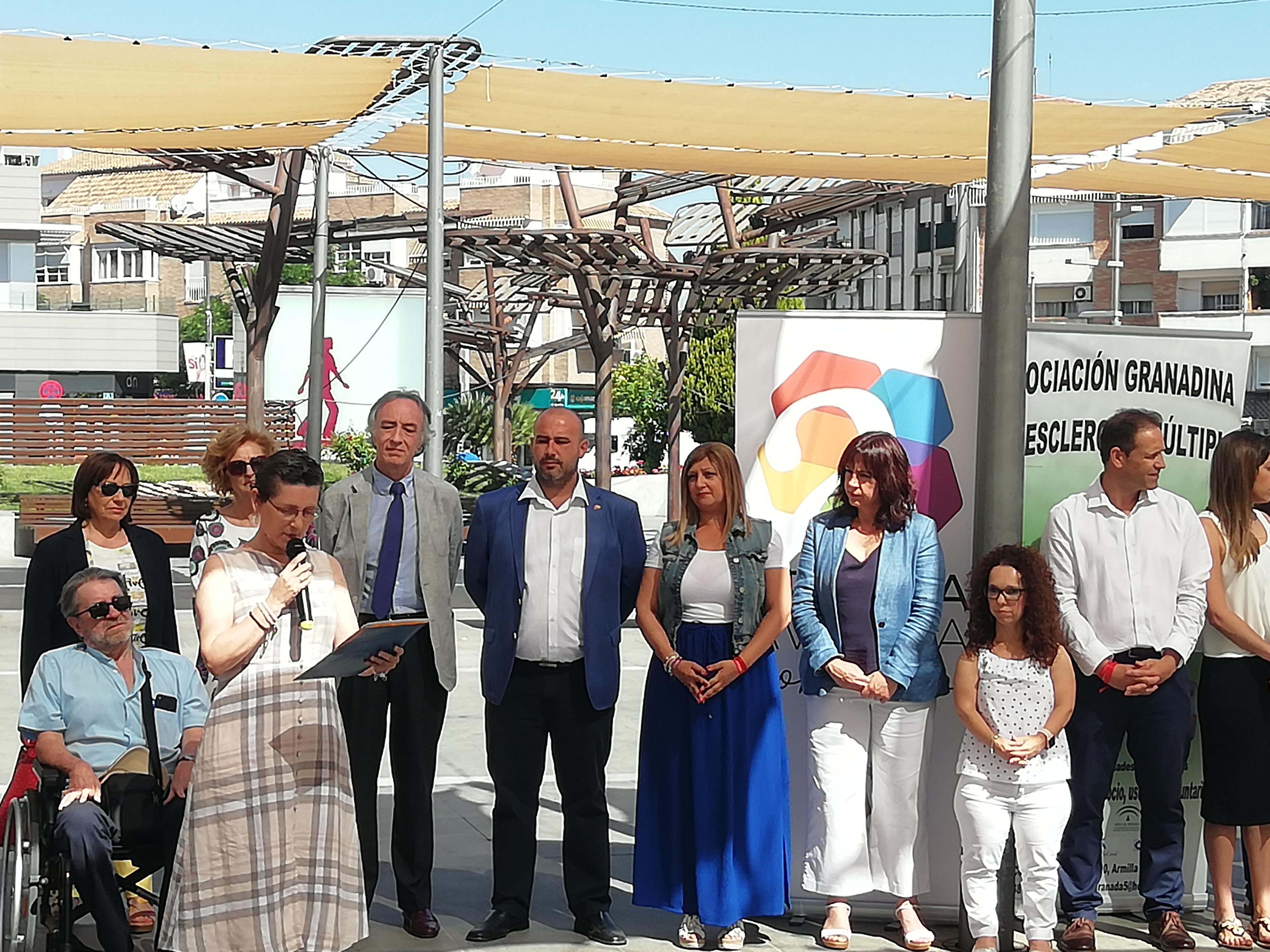 Armilla acoge la celebración del Día Mundial de la Esclerosis Múltiple