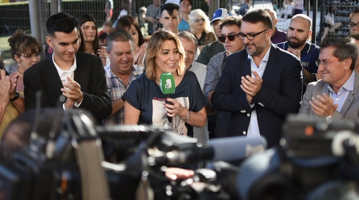 #26M: Susana Díaz pide el voto para el PSOE y así evitar que gobierne la derecha en Vegas del Genil