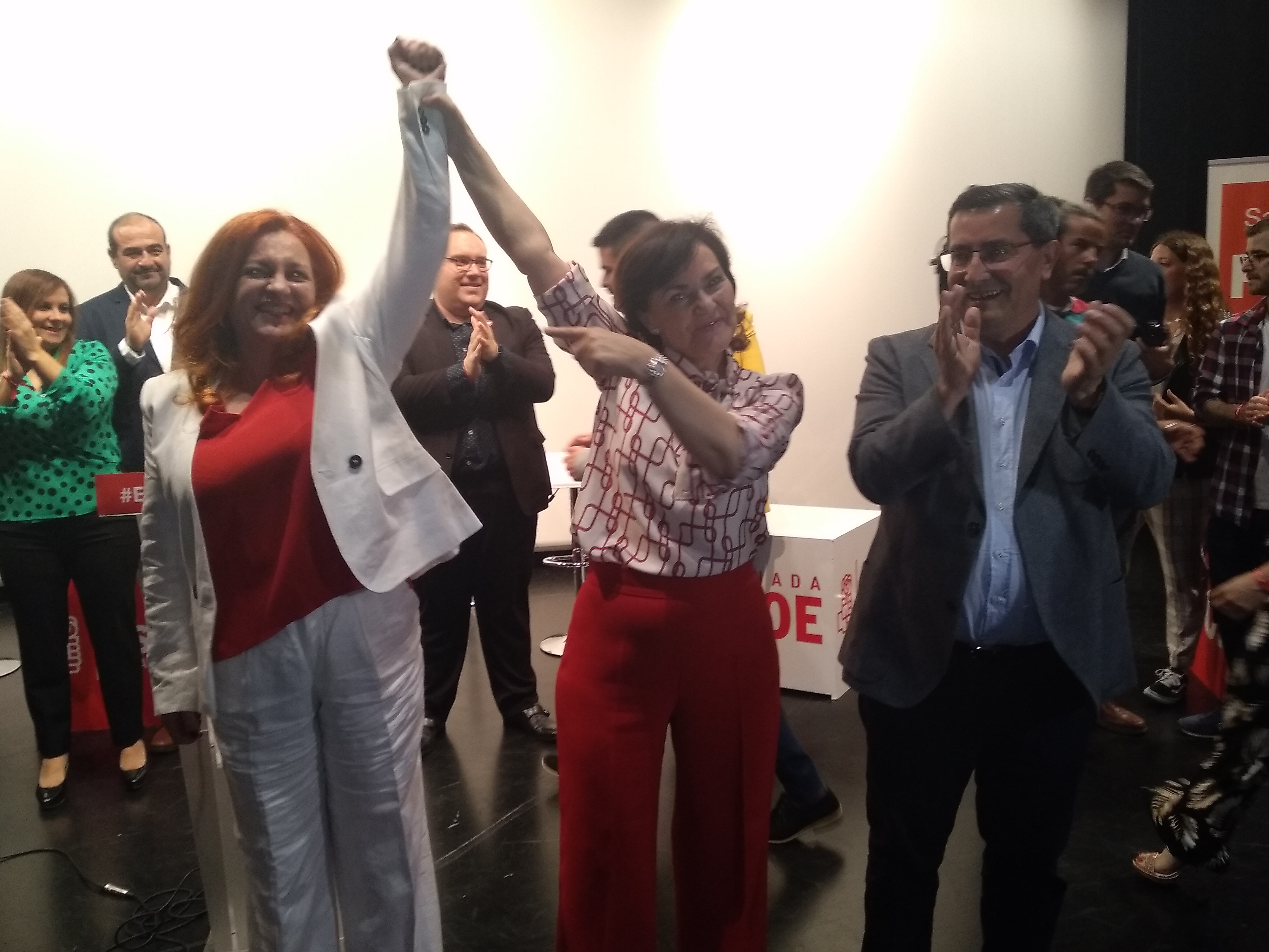 """Entrena asegura que el 28-A sitúa en """"buena posición"""" al PSOE para afrontar las municipales"""