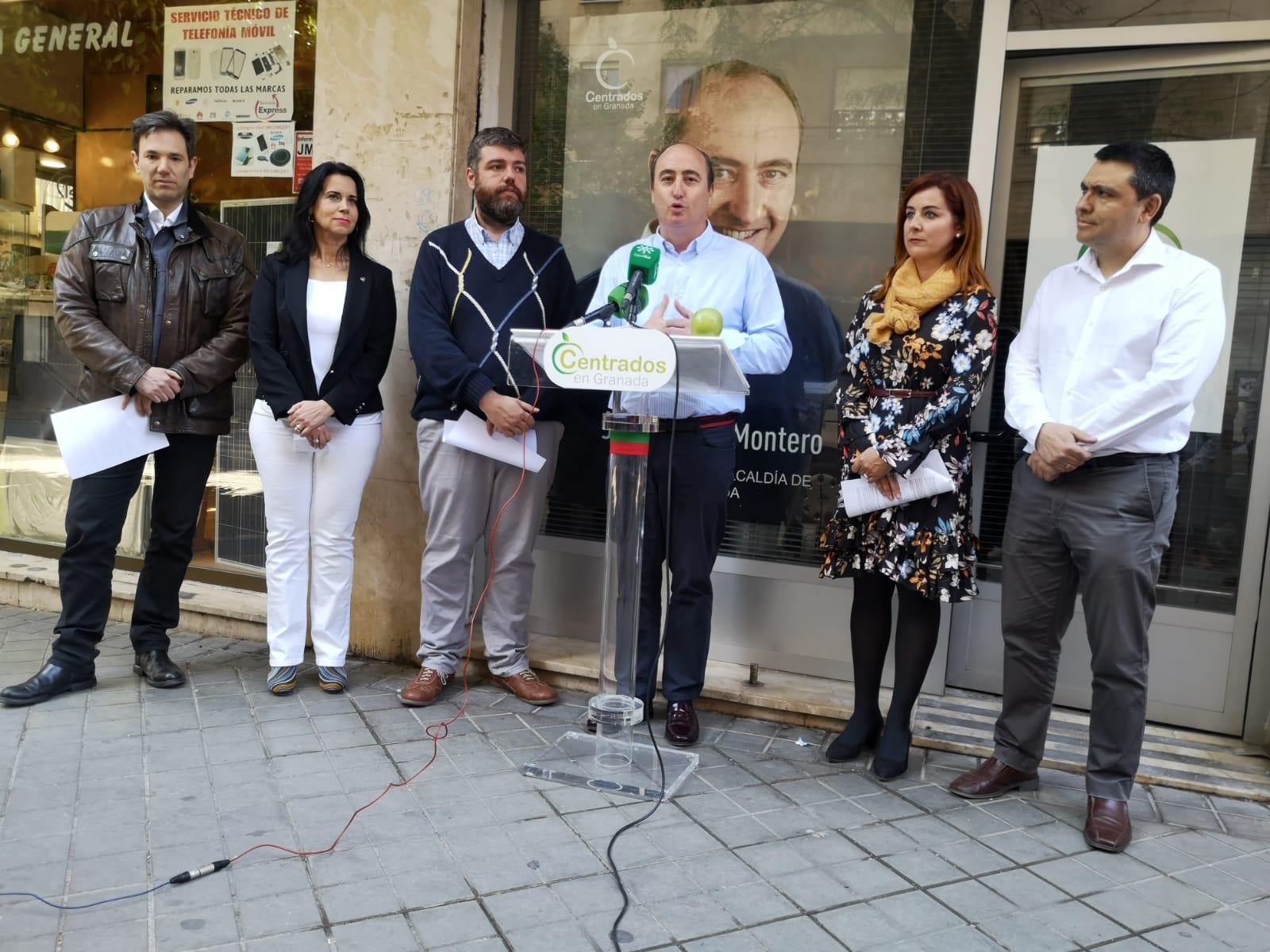 García Montero define su candidatura como «el pegamento que unirá el futuro electoral de Granada»