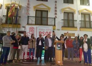 #26M: El PSOE pide un apoyo masivo para garantizar el cambio en Güejar Sierra